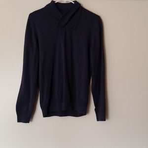 H&M men's small blue sweater
